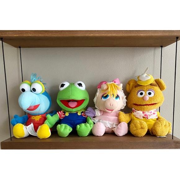 VINTAGE Muppet Babies 1980's Kermit Gonzo Piggy Fozzie